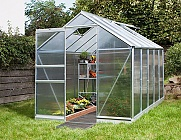 Vitavia Apollo Silver 6x6 Greenhouse - Polycarbonate Glazing
