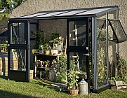 Juliana-5x10-Silver-Lean-to-Greenhouse