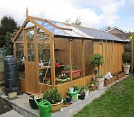 Garden Sheds And Greenhouse Combinations combined greenhouse shed - greenhouse stores