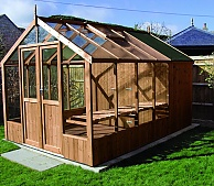 swallow raven 8x4 greenhouse shed combination - Garden Sheds With Greenhouse