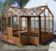 Swallow Cygnet Wooden Greenhouse