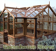 Swallow Mallard Wooden Greenhouse