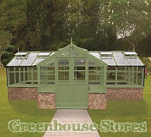 Swallow Swan Wooden Greenhouse
