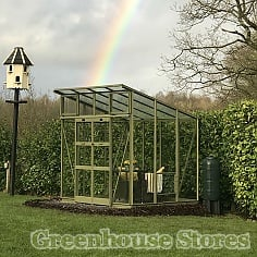 Elite The Edge Pent Roof Greenhouse