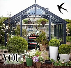 Swallow Raven Greenhouse as seen on You Magazine