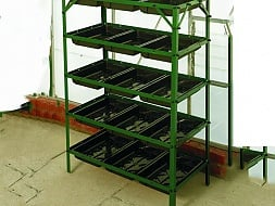5 Tier Seed Tray Frame