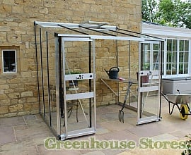 6ft Wide Lean To Greenhouses