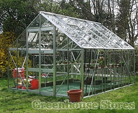 Eden Monarch Greenhouse is a 10ft wide greenhouse
