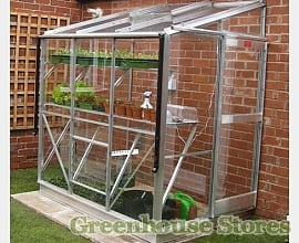Low Height Lean To Greenhouses