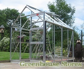 Elite High Eave Greenhouse Starter Kit Package