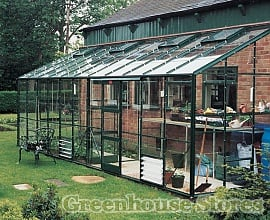Elite Kensington 6ft Wide Lean To Greenhouse