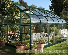Halls Supreme 8ft Wide Greenhouse