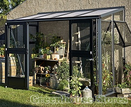 5ft Wide Lean To Greenhouses