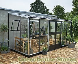 7ft Wide Lean To Greenhouses