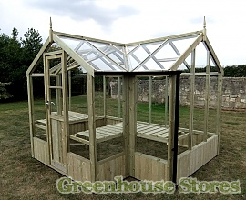 Benefits of Utilizing a Wooden Greenhouse for Vegetable Gardening