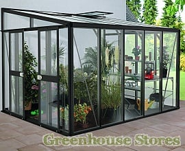 8ft Wide Lean To Greenhouses