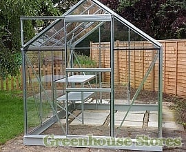Vitavia Venus 6x8 Aluminium Greenhouse with Toughened Glazing