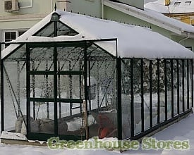 Elite Titan Greenhouse with heavy snow load
