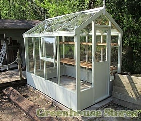 Swallow Kingfisher Wooden Greenhouse