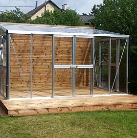 Lean To Greenhouses | Greenhouse Stores