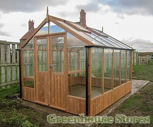 Swallow Raven 8x12 Wooden Greenhouse