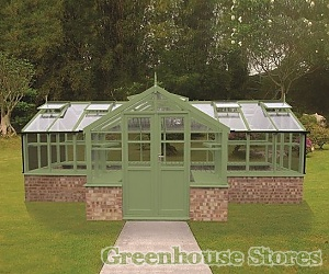 Swallow Swan 8ft Wide Greenhouse