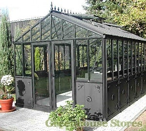 Janssens Helios Retro Greenhouses