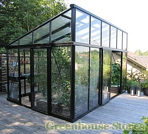 Janssens Modern Pent Roof Greenhouse