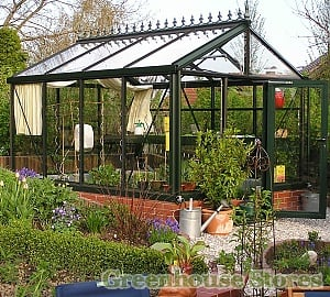 Janssens Mur Dwarf Wall Greenhouse