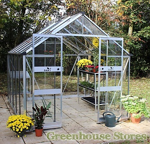 Eden Blockley 8x10 Aluminium Greenhouse