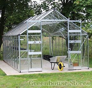 Eden Bourton 10ft Wide Zero Threshold Greenhouse