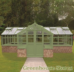 Swallow Swan wooden greenhouse 8x13