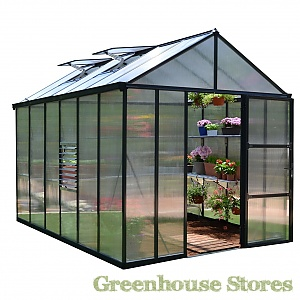 Palram 8x12 Glory Polycarbonate Greenhouse