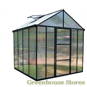 Palram 8x8 Glory Polycarbonate Greenhouse
