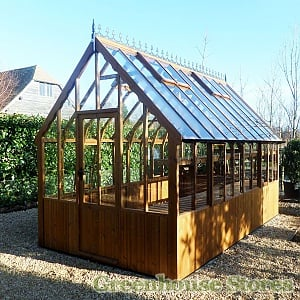 Swallow Eagle Wooden Greenhouse