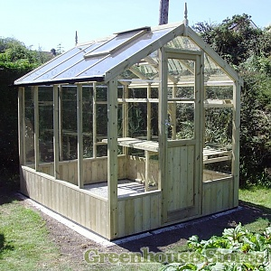 Swallow Kingfisher 6ft Wide Greenhouse