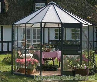 Eden Pleiades Hexagonal Greenhouse