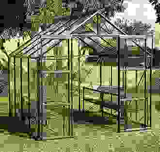 Vitavia Phoenix <strong>Green</strong> 8x8 Polycarbonate