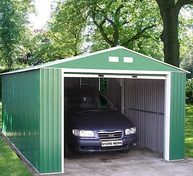 Emerald Olympian 12x38 Metal Garage