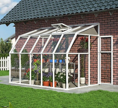 Tremendous Rion Sun Room 6X10 Lean To Greenhouse Polycarbonate Glazing Complete Home Design Collection Barbaintelli Responsecom