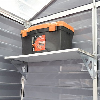 Palram Heavy Duty Shelf Kit For Skylight Sheds