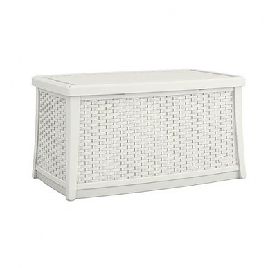 Suncast 114litre Coffee Table With Storage In White