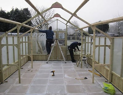 Swallow Greenhouse Installation