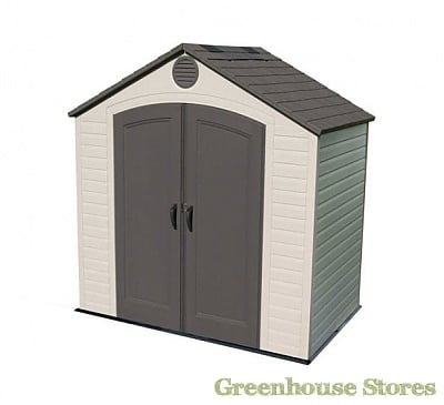 Lifetime 8x5 Plastic Shed - Greenhouse Stores