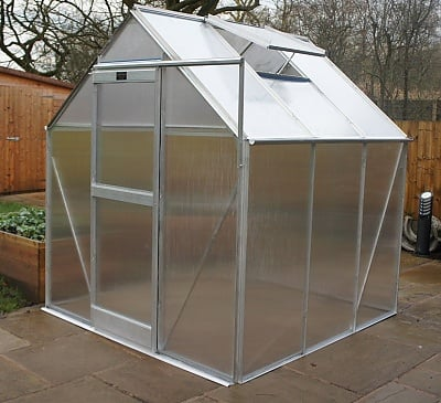 Elite iGRO 6x4 Greenhouse - Polycarbonate Glazing
