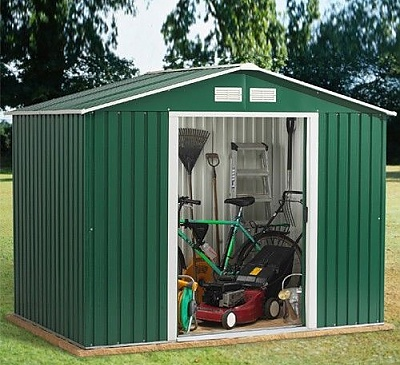 Emerald Rosedale 8x10 Metal Shed