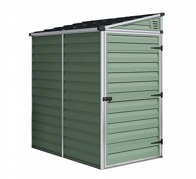 Palram 4x6 Pent Plastic Skylight Shed