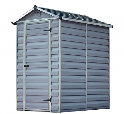 Palram 4x6 Plastic Skylight Grey Shed