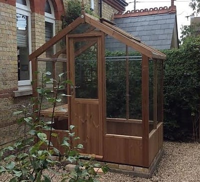 Swallow Kingfisher 6x4 Wooden Greenhouse