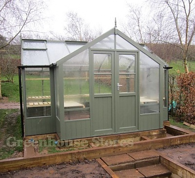 Swallow Swan 8x13 Wooden Greenhouse
